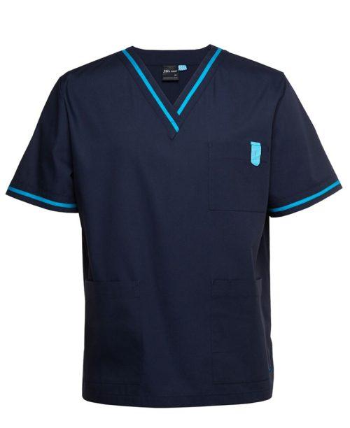 navy aqua scrubs